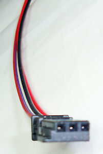 DEFENDER TD5 Analogue Time Clock Connector, Pre-Crimped to 3 x 0.5mm² Cables