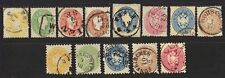 AUSTRIA 1860-63 Sc #12-16, 19-21, 22-26 PERFS ALL INTACT NO FAULTS NEAT CLASSIC