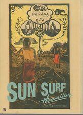 Ltd. Edition Sun Surf Hawaiian Spring & Summer Collection 2014 Catalogue