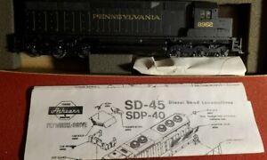HO Vintage Athearn 4166 Pennsylvania SD 45 PWR  Locomotive No. 8962 lot t561