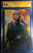 SYMBIOTE SPIDER-MAN VIRGIN COVER 1:200 CGC 9.8 SIGNED BY STANLEY ARTGERM LAU