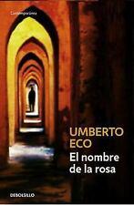 El Nombre de la rosa Contemporanea Debolsillo Spanish Edition