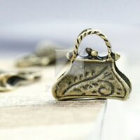 6pcs Antique Brass Pendant Charm Supplies Jewelry Sun Flower  50.5x47x3mm YB