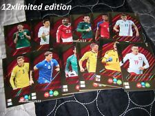Panini Fifa World Cup 2018 Russia 12 cards Limited Edition Torres / Berg /Sisto