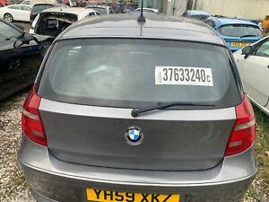2009 BMW 1 Series E87 Rear Tailgate complete 5 Door Space Gray Metallic