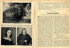 Justinus Kerner-Haus Weinsberg Essay mit historischen Aufnahmen von 1905