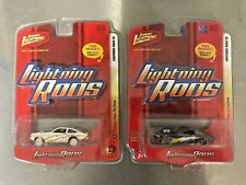 Johnny Lightning Rods '71 Chevy Vega Pro Stock & '65 Ford Mustang 2+2 Fastback