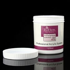 120ml Acrylic Crystal Nail Powder Builder Manicure Nails Art Tips Polymer Clear