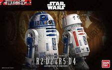R2-D2 & R5-D4 Astromech Droids Star Wars Scale 1/12 Model Figure Kit Bandai