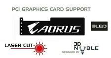 LED Backlit AORUS - GPU Anti-Sagging Support Bracket GTX AMD NIVIDA ATI