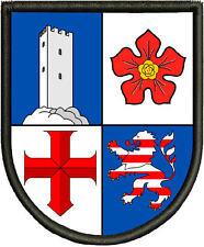 Bergstrasse Kreis Wappen  Aufnäher, Pin ,Aufbügler.