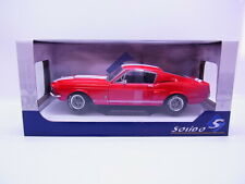 S138 Solido 1802902 Ford Shelby Mustang GT500 rot 1967 Modellauto 1:18 in OVP