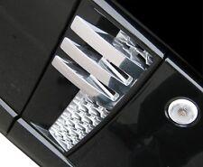 Black+chrome Autobiography style side vent air grilles - Range Rover L322 design