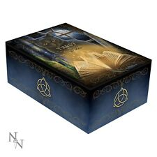 Beautiful Tarot Box: 'Bewitched' Black Cat Design by Lisa Parker - Pagan Wiccan
