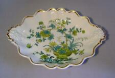 Early C.19th Ridgway Porcelain Grape Moulded Dessert Dish: Pattern 895 C.1835