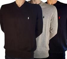 Ralph Lauren Pullover V-Heck Größe S M L XL XXL