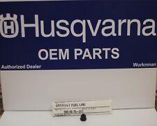 Husqvarna New OEM Gas Fuel Tank Bushing  / Grommet 580457501 / 503735801