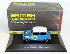 More details for  atlas 1/43 scale - austin mini cooper s alec poole btcc 1969 diecast model car