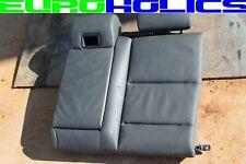 OEM BMW E60 535i 550i 04-10 Left Driver Side Rear Back Upper Seat Cushion BLACK