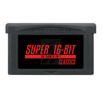 Super 16-Bit SNES Classics 30-in-1 for GBA Gameboy Advance multicart Mario Zelda