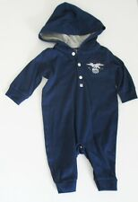 Ralph Lauren Baby Boys Graphic Print Coverall Freshwater Sz 3M - NWT