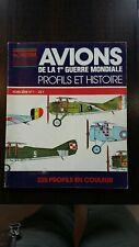 Avions de la 1ère guerre mondiale hors série n¤ 1 1979 . Bleriot fokker zeppelin