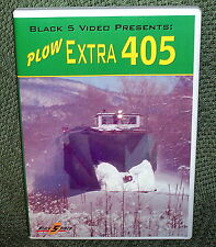"""b004 TRAIN VIDEO DVD """"SNOW PLOW EXTRA 405"""" ALCO RS1 NEW ENGLAND"""