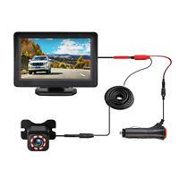 "Car Back up Rear View Parking System Night Vision Camera +4.3"" TFT LCD Monitor"