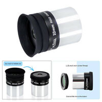 1.25'' 10mm Plossl PL Eyepiece Multi Coated Lens for Telescope Accessory