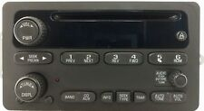 Chevy Oldsmobile CD XM ready radio. OEM factory Delco stereo. Remanufactured