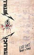 Metallica Live Shit Binge & Purge Tour P, Metallica, Good Condition Book, ISBN