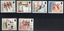 Jersey SC800-805 JerseyIslandGames-Cycling-Archery-Windsurfing-GymnastocsMNH1997