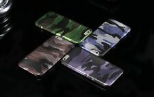 Camouflage Phone Cases Cool Army Design Leather Material Iphone Housing Covers