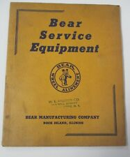 1943 BEAR SERVICE EQUIPMENT Illustrated Catalog