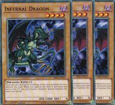 Dragon Abominable SR06-FR012 VF/COMMUNE SR06-EN012 Yu-Gi-Oh