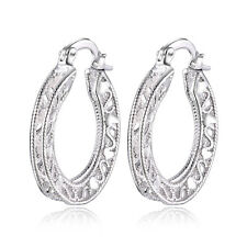 cute Fashion sterling Silver plated charms Pretty women pretty wedding Earring