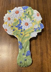 Beautiful Temp-tations Figural Floral Daisy By Tara KFI-XNG-821695 Spoon Rest