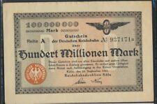 Colonia Pick-No.: S1288 Inflationsgeld el Alemán Reichsbahn Colonia usad(8590234