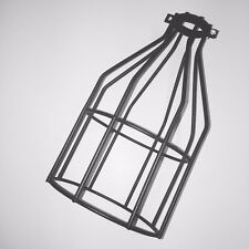 Black Industrial Light Shade Lamp Wire Cage Vintage Retro Urban Style Lighting