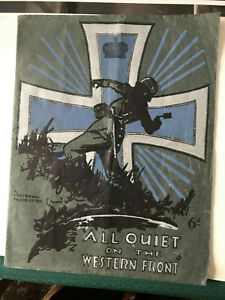 All Quiet On The Western Front 1930 Universal English program 9x11/2 Lew Ayres