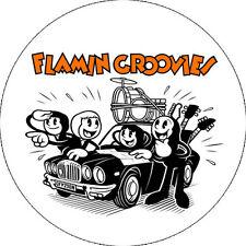 CHAPA/BADGE FLAMIN' GROOVIES . cyril jordan roy loney bomp chris wilson pop