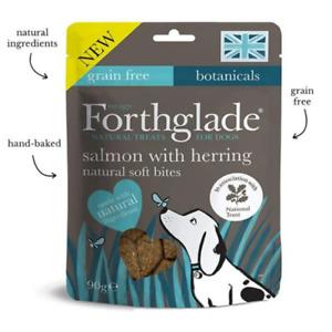 Forthglade Salmon With Herring Natural Soft Bites Dog Treats 90g