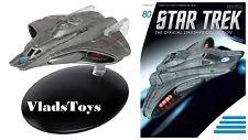 Eaglemoss Diecast Star Trek Starfleet Federation Scout Ship #80 w/Magazine