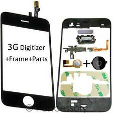 Digitizer Touch Glass Screen Replacement + Frame + Parts For iPhone 3G Assembly