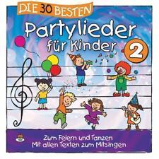 Die 30 Besten Partylieder Für Kinder 2 von S. Sommerland,Karsten Glück & Die Kita-Frösche (2017)