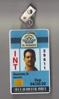 THE LIBRARIANS SCREEN USED EP 306 Airport INT ID Card El Dorado (2)