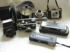 Vintage Cameras, large mix lot - Good Value For Money+