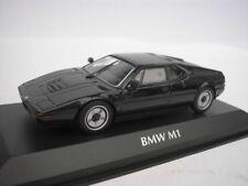 BMW M1 1979 Black 1/43 maxichamps 940025021 NEW