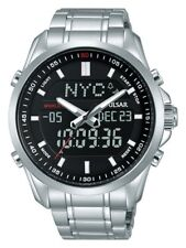 Pulsar Gents Chronograph World Time Watch - PZ4021X1 NEW