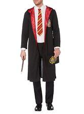 Con Licencia de Harry Potter Disfraz Capa + varita Corbata & Funda libro para adultos Lg/XL BNIP